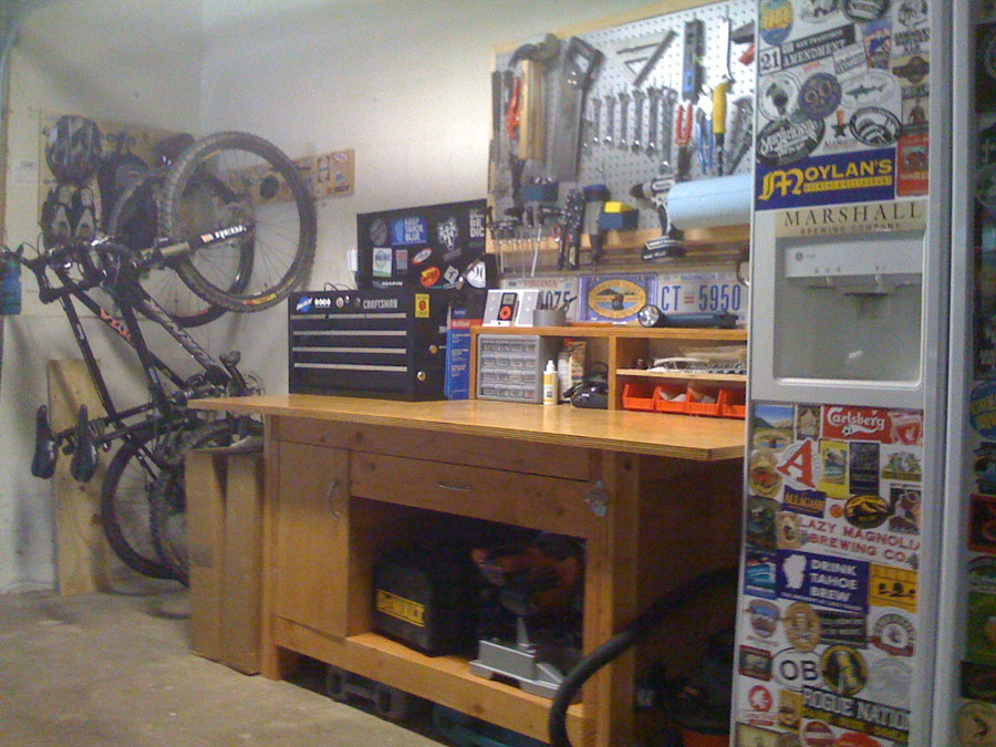 bicycle workbench plans